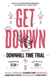 the 2014 Shortest Day/Longest Night Get Dowwn Downhill